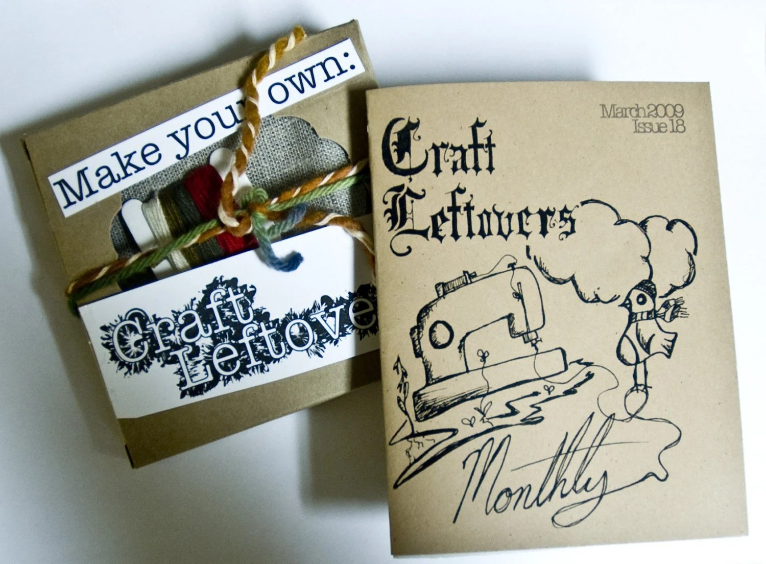 Craftleftovers Monthly