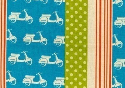 the estate of things chooses echino scooter fabric