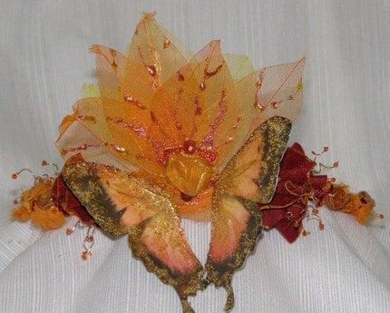 Autumnal Faerie Fairy/Faerie OOAK Crown