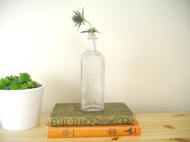 glass medicine bottle by finding fabulous, $8
