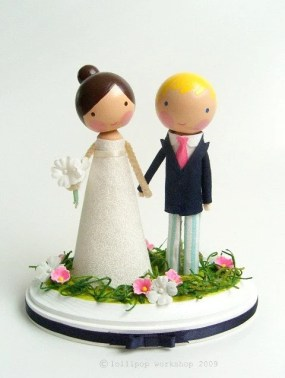custom wedding cake topper - you choose the details