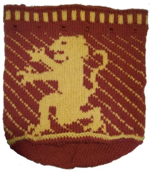 Gryffindor Lion Knitting Pattern