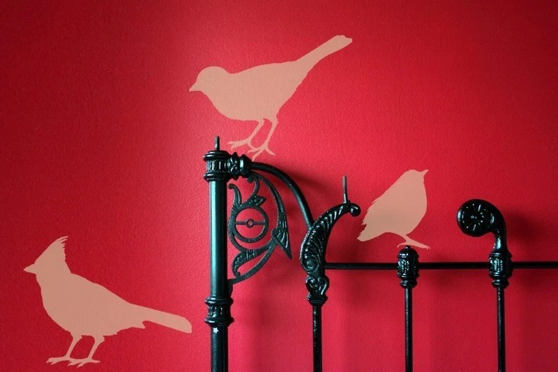 4. Bird Vinyl Graphic Decals