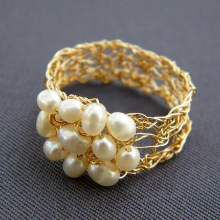 5. Gathe-ring, gold filled
