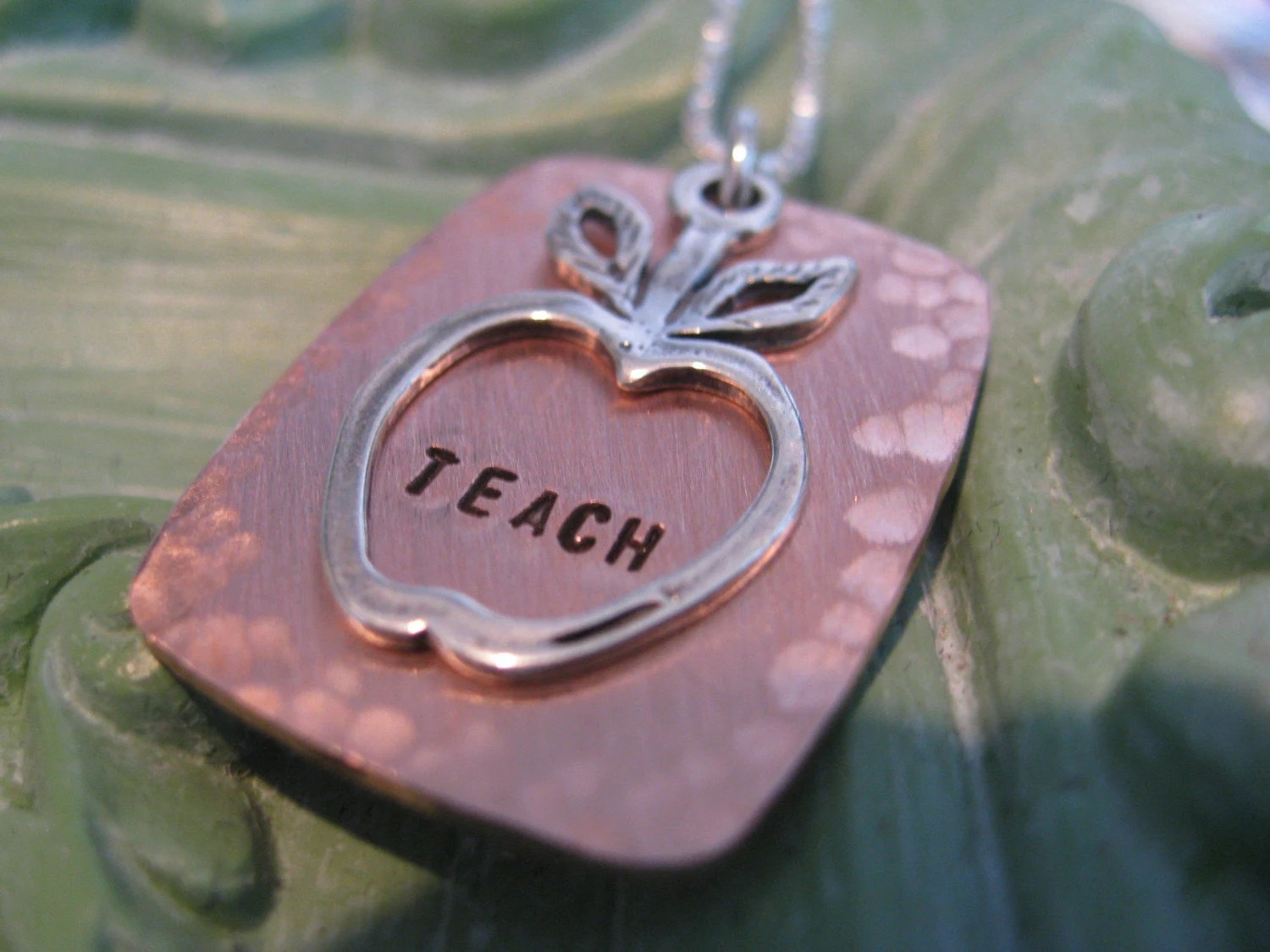 Apple for the Teacher MIxed Metal Collection