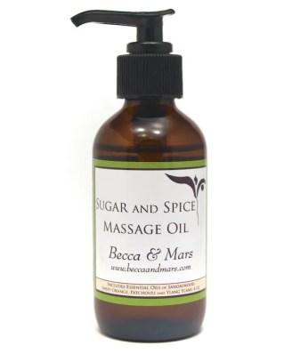 Becca & Mars Sugar & Spice Massage Oil Review