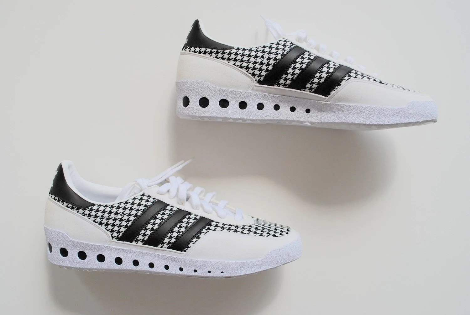 Vintage Adidas Black and White Sneakers