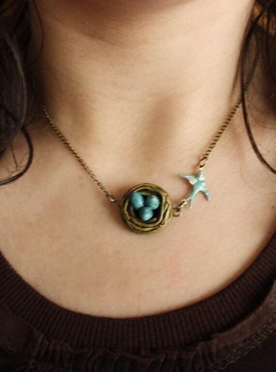Bird Nest Necklace (PRE ORDER)