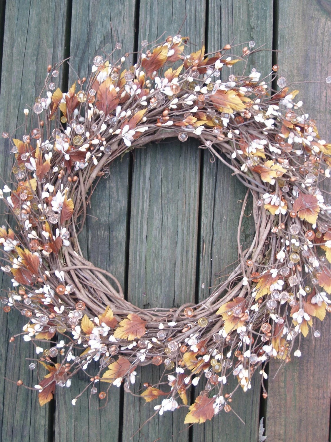 Simply Fall -- Thanksgiving/Fall/Autumn Wreath