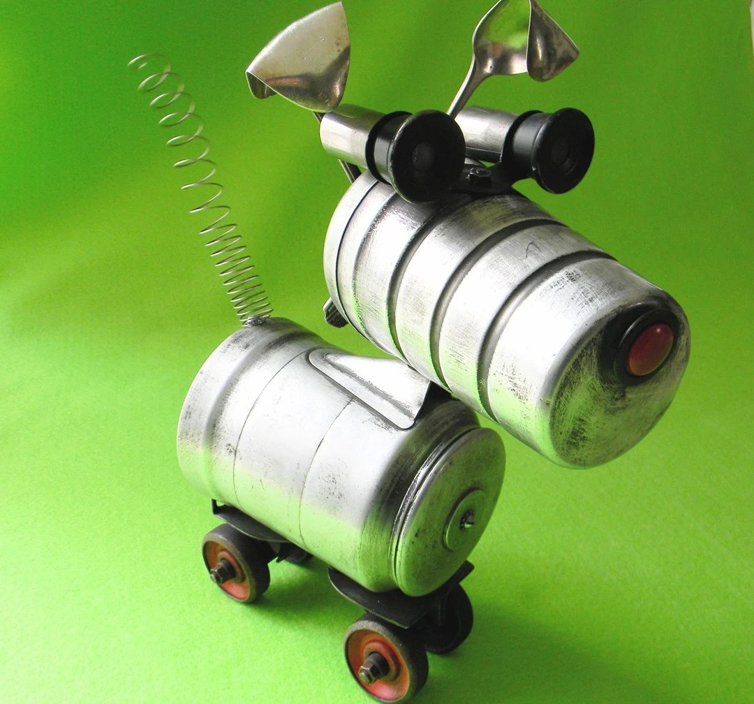 TUFFY - A Tough Little Terrier Robot - Reclaim2Fame