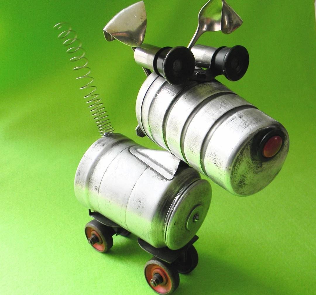 TUFFY - A Tough Little Terrier Robot - Reclaim2Fame