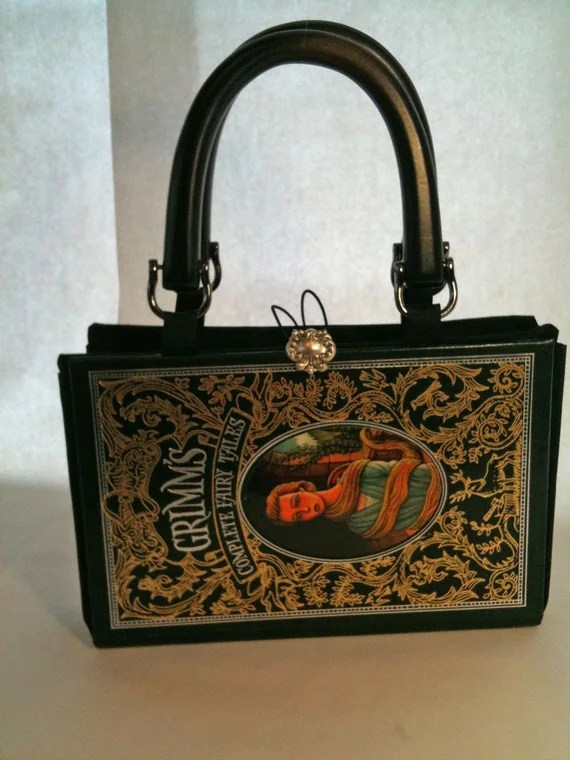 Grimms Complete Fairy Tales Book Purse