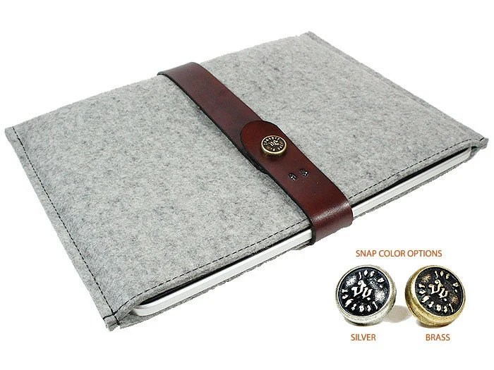 3MM Merino Felt Wool Ipad Sleeve - Fele