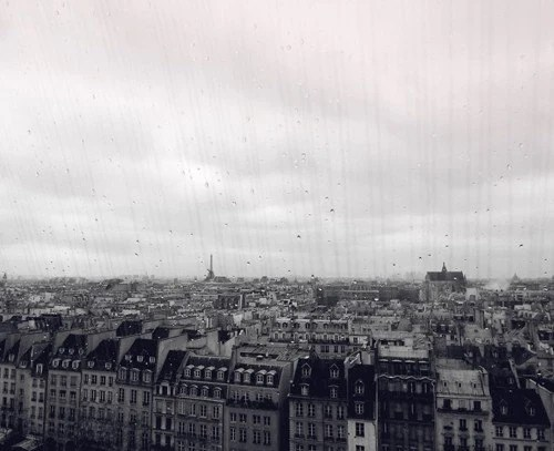 Paris in tears - Photography Print