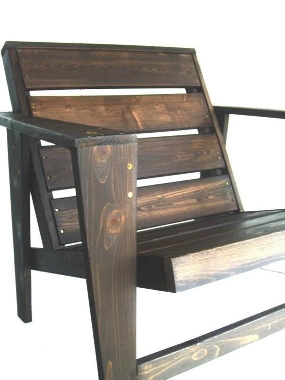 contemporary adirondack chair plan