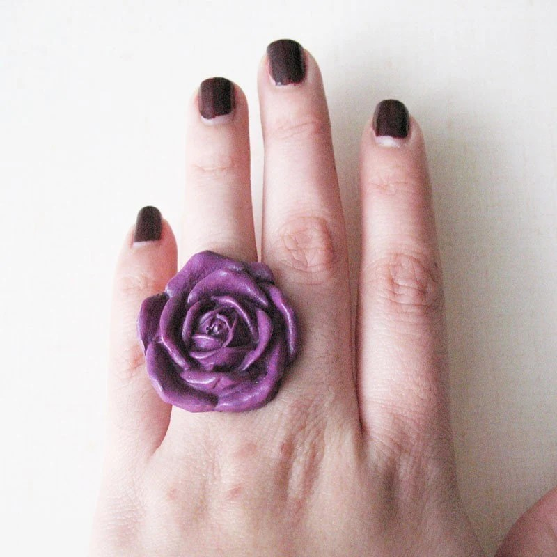 pulp sushi ring flower purple