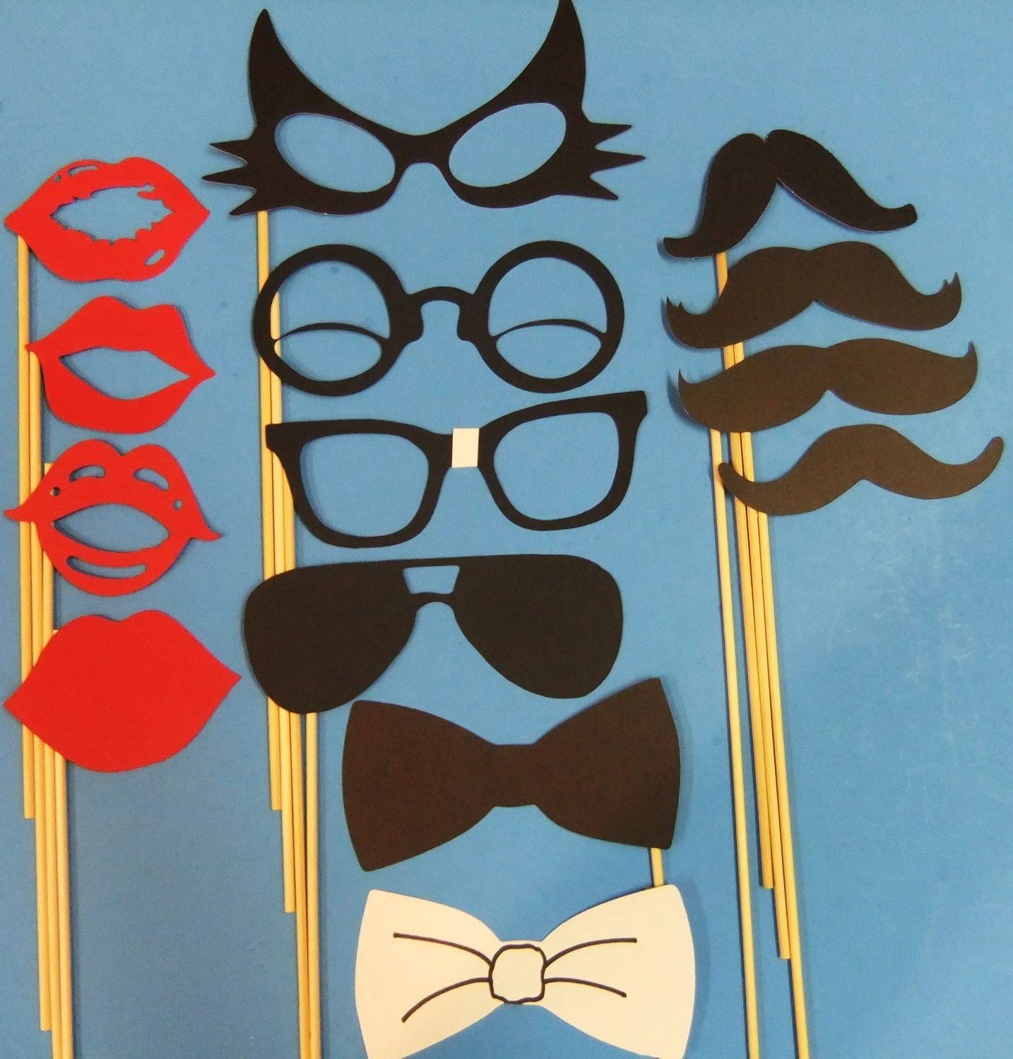 Photo Prop Geeky Cool Set of 14 Photo Props to add FUN to your party wd