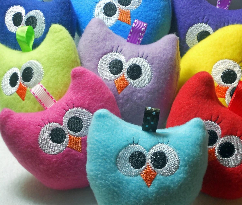 Owl plushies baby toy