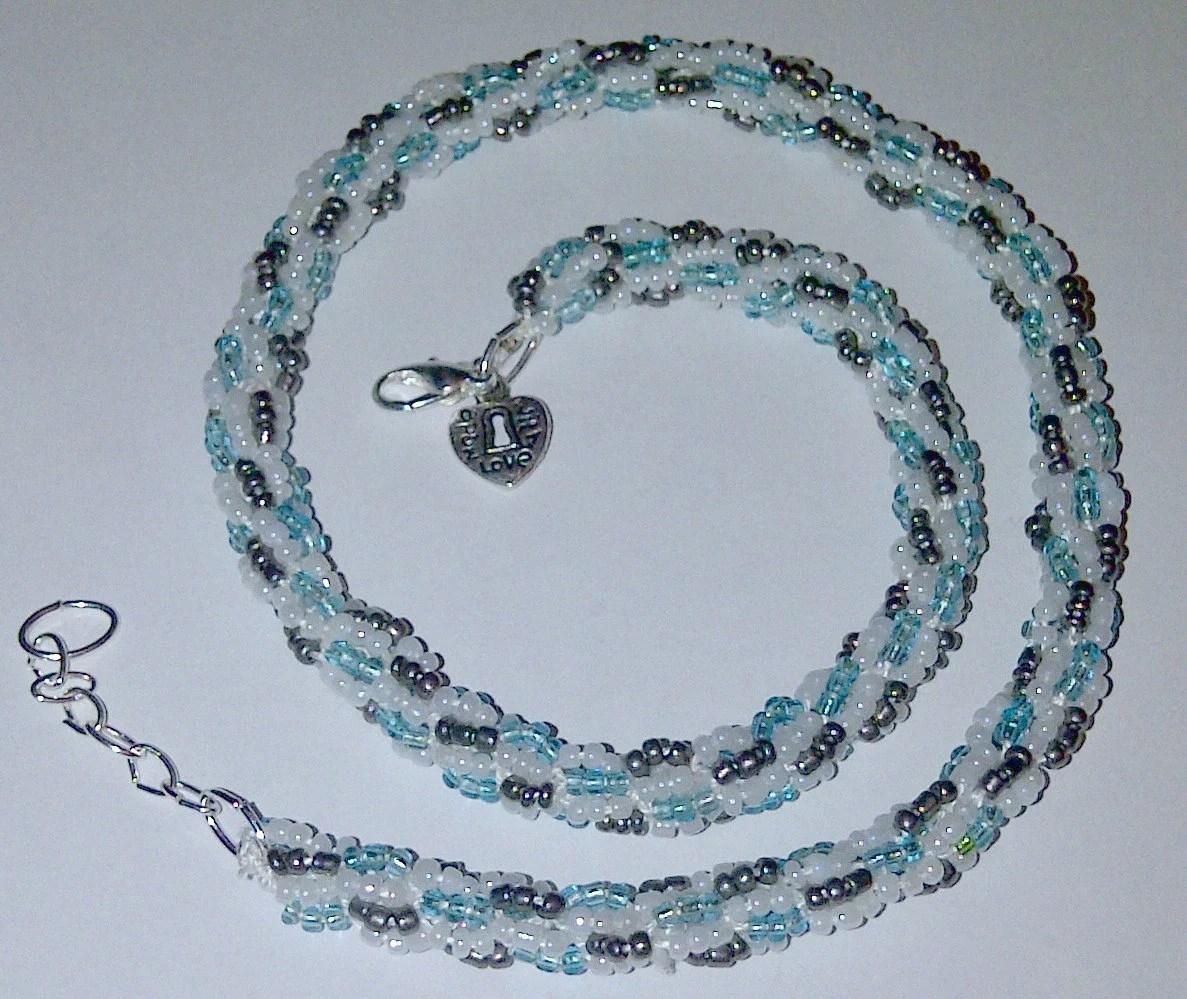 Turkish Crochet Beaded Necklace