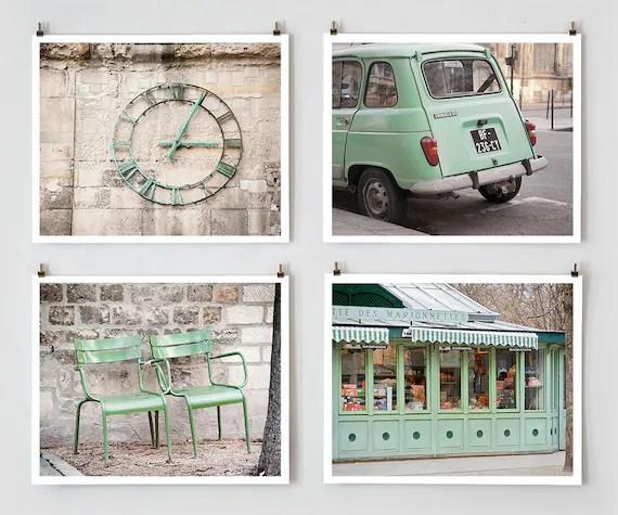 Paris Photo Collection - 8x10 Green