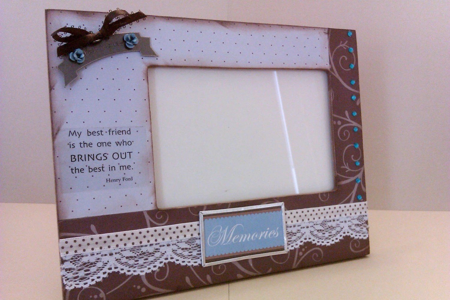 Handmade Best Friend Frame