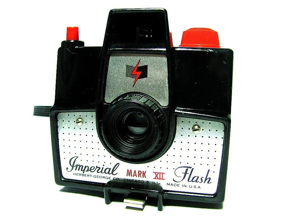 1950s IMERIAL MARK VII FLASH CAMERA  -  Vintage Camera  -  Box Camera