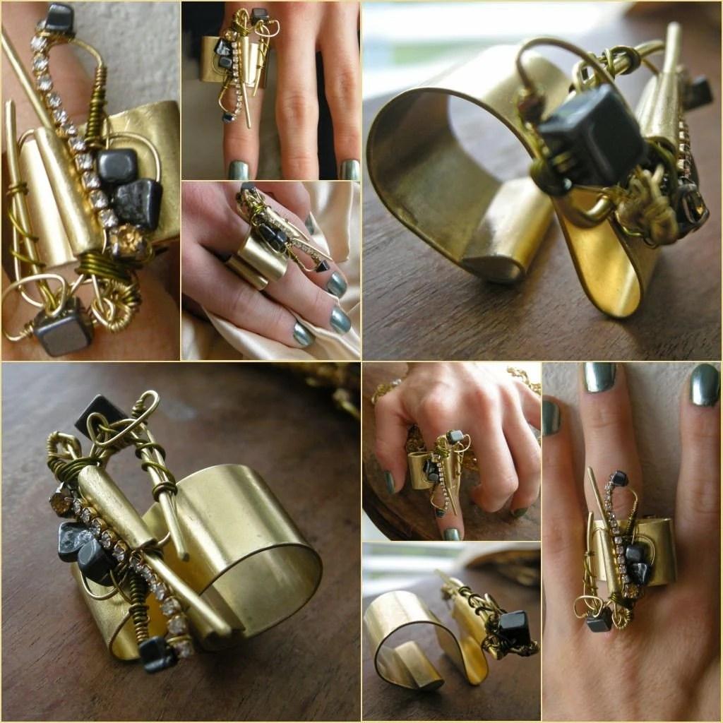 Brazen  Hematite Ring