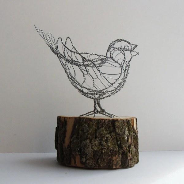 Wire Sculpture Useless Junk Design Work