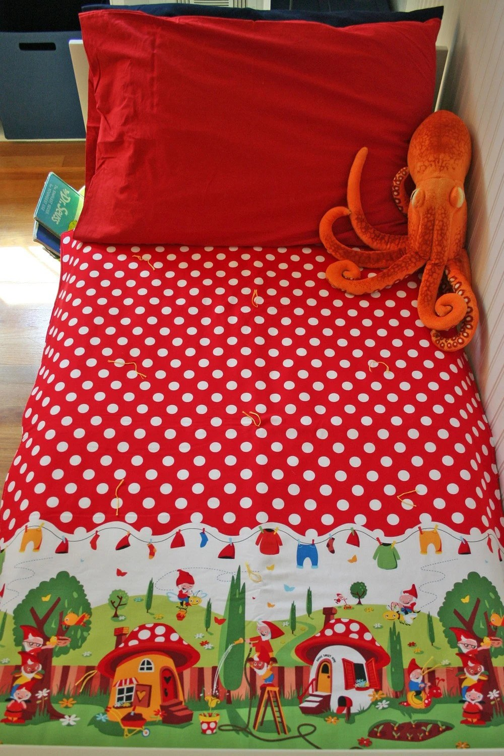 Gnome quilt from BeepsPeeps