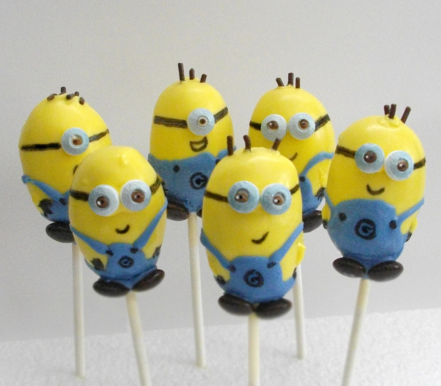 Cake Pop And Cake Ball Ideas Minion Cake Pops