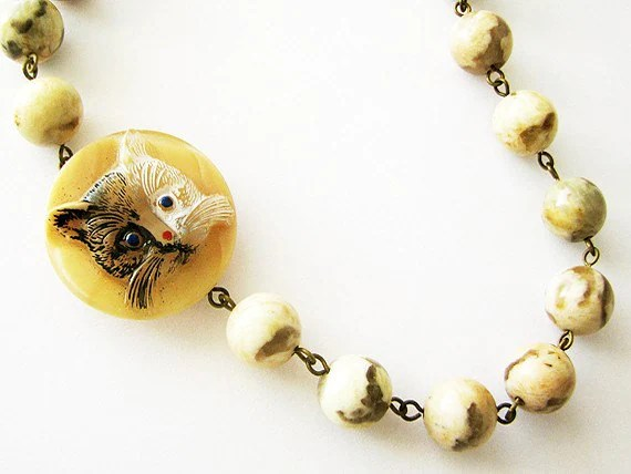 Wild Cat Necklace by SELF Jewelry
