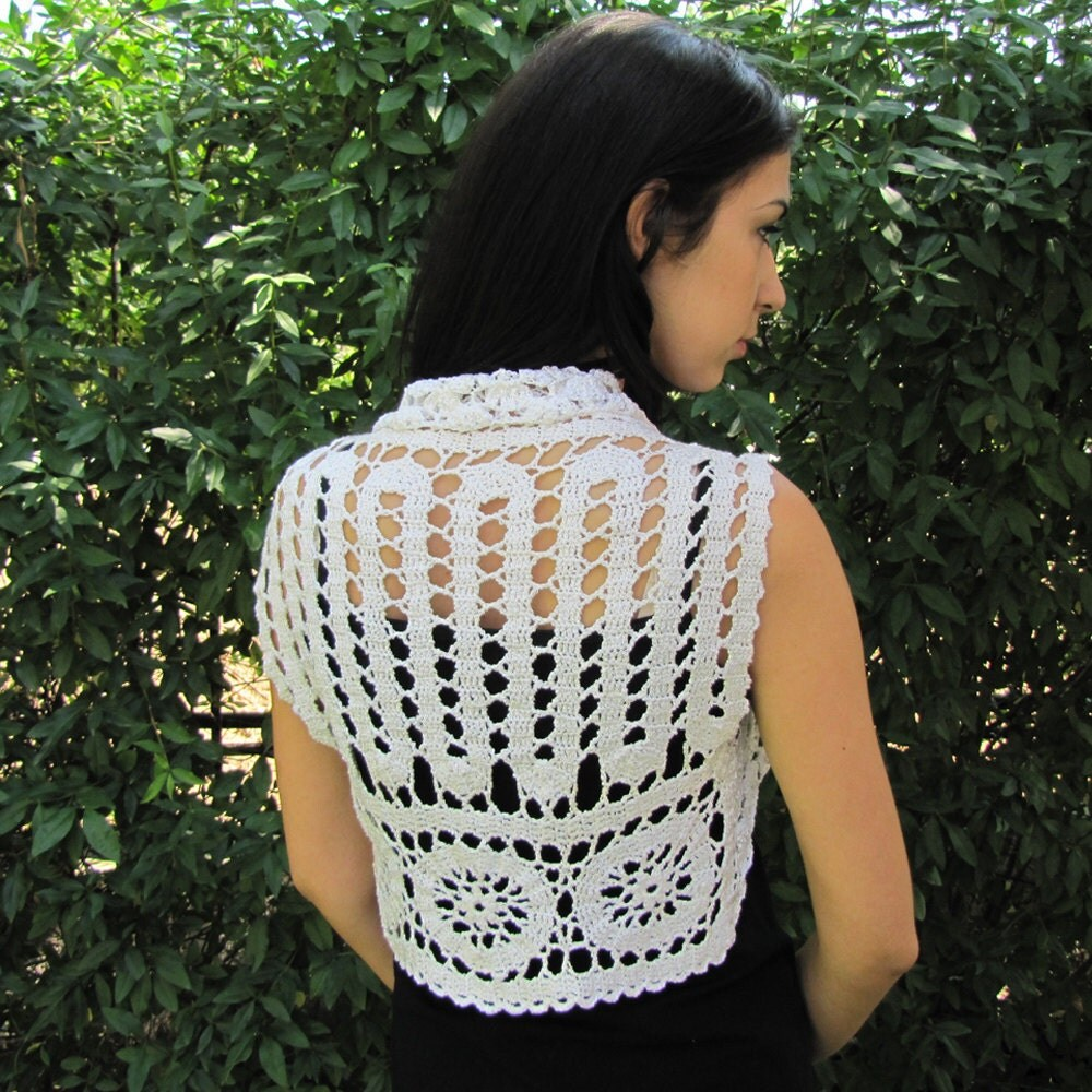 Luxury Crochet Bolero for Weddings