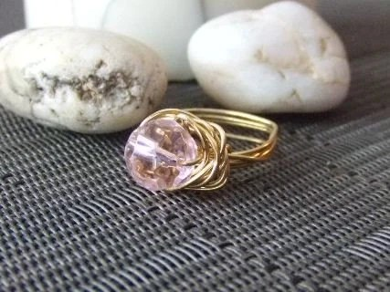 The Pink Glory Ring-$15