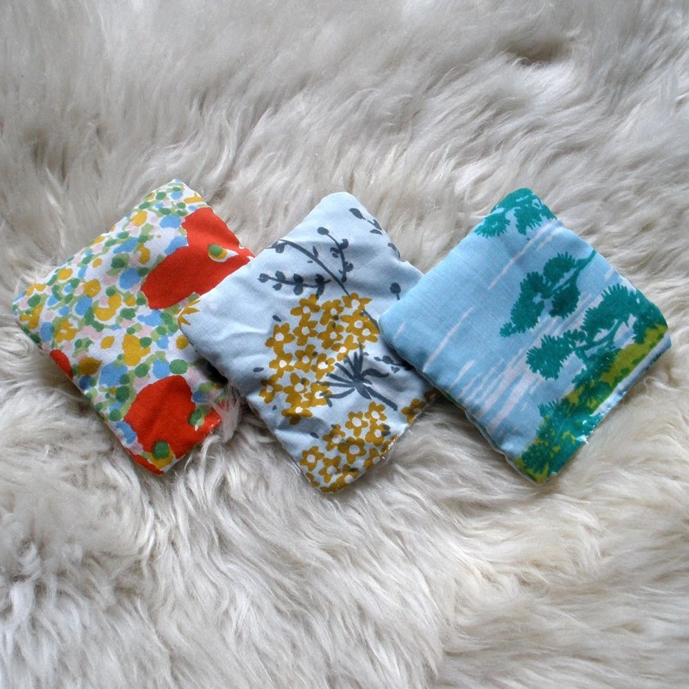 soft & cozy lavender and mint dryer sachets
