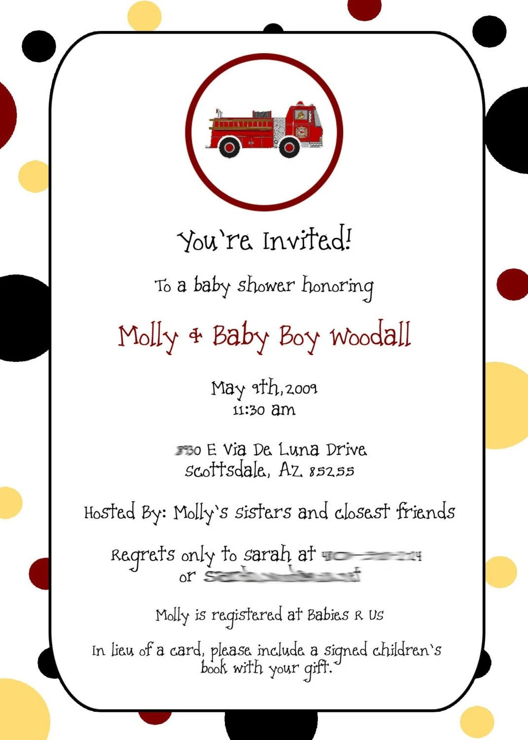 Free Printable Trucks Birthday Invitations 9jasports