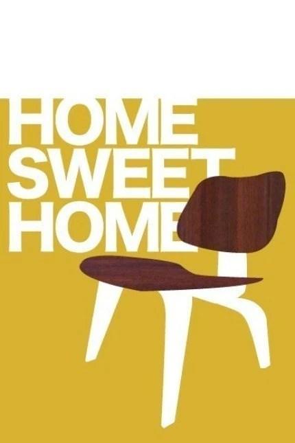 Home Sweet Home print from Jen Ski on Etsy