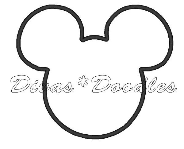 Free coloring pages of minnie mouse head outline