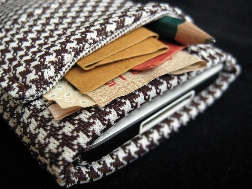 iPod Case Thornton Handmade Vintage Fabric