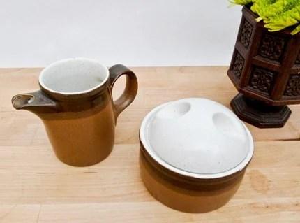 Vintage Ben Seibel Sugar Bowl and Creamer