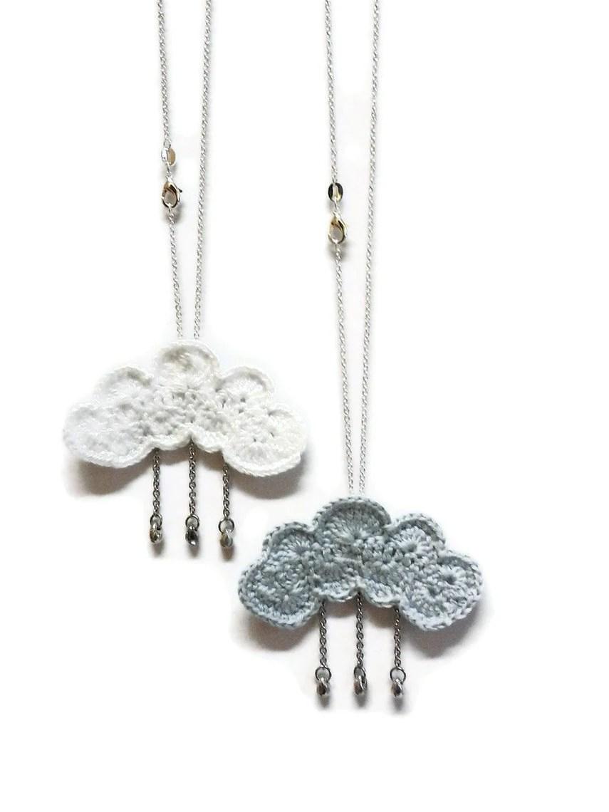 KhinsBoutique: Crochet Rain Clouds