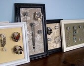 Glass Knob Jewelry Frames
