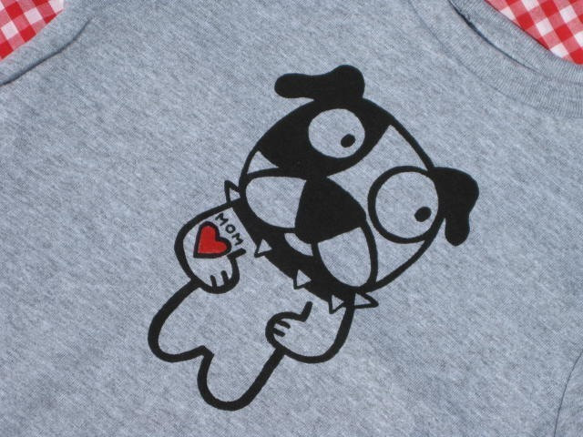 Ruff Pup Dog Toddler Tee