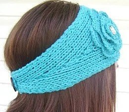 Thin  Turquoise Headwrap- FREE SHIPPING