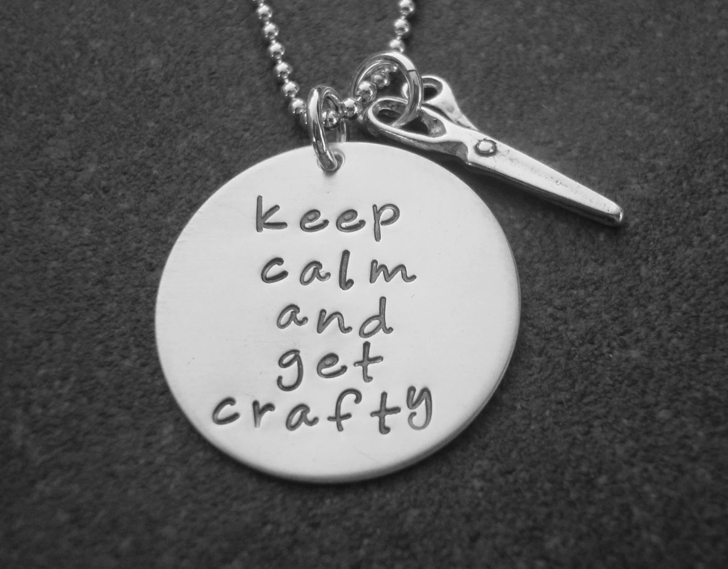 Keep Calm  and Get Crafty