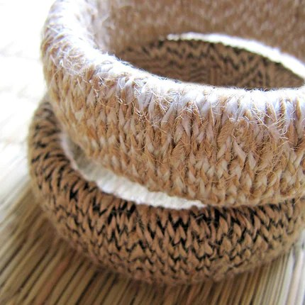 Eco friendly Hemp Bangle by Hippie Kingdom