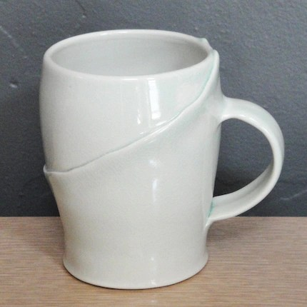 Porcelain Mug in Celadon