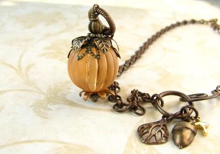 Pumpkin Patch Necklace