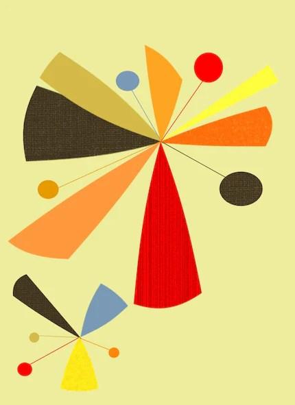 the estate of things chooses starburst print