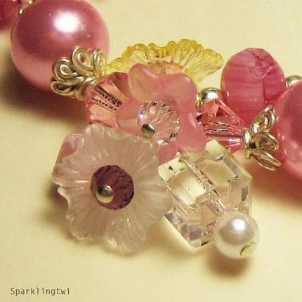spring charm bracelet