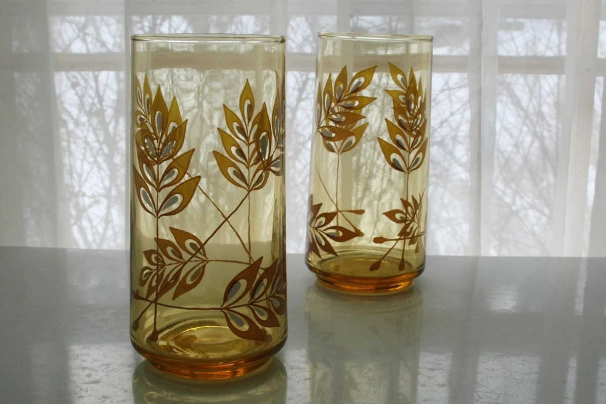 Set of 2 Drinking Glasses